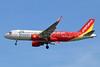 Vietjet Air (VietJetAir.com) Airbus A320-214 WL VN-A696 (msn 6242) (Vietnam) BKK (Michael B. Ing). Image: 926900.