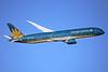 Vietnam Airlines Boeing 787-9 Dreamliner VN-A866 (msn 38762) LHR (Keith Burton). Image: 936660.