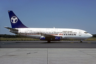 Alyemen Airlines of Yemen Boeing 737-2R4C 7O-ACR (msn 23130) SHJ (Christian Volpati Collection). Image: 930304.