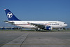 Alyemen Airlines of Yemen Airbus A310-304 F-ODSV (msn 474) LHR (SPA). Image: 930306.