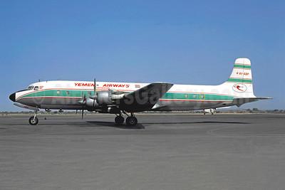 Yemen Airways Douglas DC-6A 4W-ABP (msn 45457) JIB (Jacques Guillem). Image: 950478.