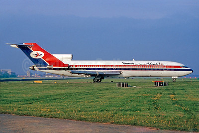 Yemenia (Yemen Airways) Boeing 727-2N8 4W-ACF (msn 21844) LGW (SM Fitzwilliams Collection). Image: 911012.