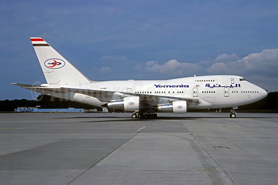 Yemenia (Yemen Airways) Boeing 747SP-27 7O-YMN (msn 21786) (Jacques Guillem Collection). Image: 932087.