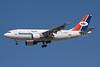 Yemenia (Yemen Airways) Airbus A310-324 7O-ADW (msn 704) DXB (Ole Simon). Image: 913897.