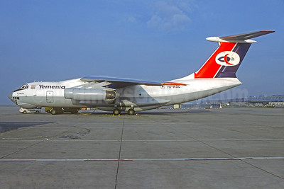 Yemenia (Yemen Airways) Ilyushin Il-76TD 7O-ADG (msn 1033415497) MUC (Christian Volpati Collection). Image: 930316.