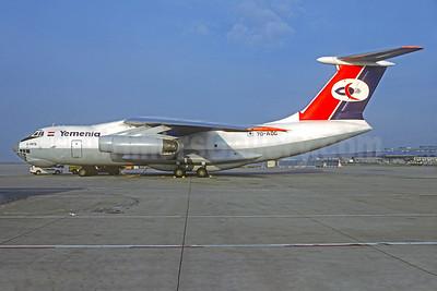 Yemenia (Yemen Airways) Ilyushin Il-76TD 7O-ADG (msn 1033415497) MUC (Bernhard Ross). Image: 930316.