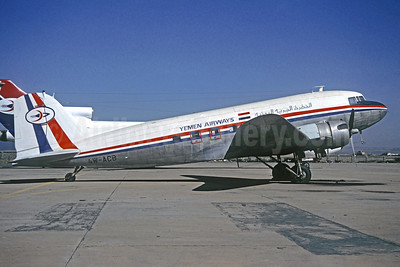 Yemen Airways Douglas DC-3 4W-ACB (Christian Volpati Collection). Image: 930310.