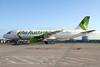 Air Australia Airbus A320-212 VH-YQC (msn 395) BNE (Peter Gates). Image: 907867.