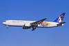 Ansett Australia Boeing 767-324 ER VH-BZF (msn 27569) (Olympic Torch Relay) SYD (John Adlard). Image: 926352.