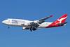 QANTAS Airways Boeing 747-438 ER VH-OEF (msn 32910) (Oneworld) LAX (Michael B. Ing). Image: 926144.