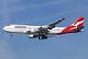 QANTAS Airways Boeing 747-438 ER VH-OEG (msn 32911) LAX (Michael B. Ing). Image: 926527.