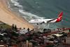 QANTAS retires the Boeing 767, VH-OGL over Bondi Beach