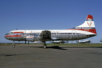 Airlines of South Australia (1st) Convair 440-75 VH-BZN (msn 449) (Christian Volpati Collection). Image: 936291.