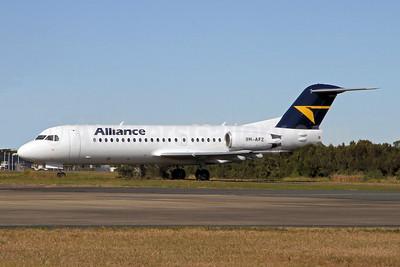Alliance Airlines (Australia) Fokker F.28 Mk. 0070 (Fokker 70) 9H-AFZ (msn 11575) BNE (Peter Gates). Image: 906800.