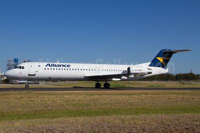 Alliance Airlines (Australia) Fokker F.28 Mk. 0100 (Fokker 100) VH-XWR (msn 11306) BNE (Peter Gates). Image: 907387.