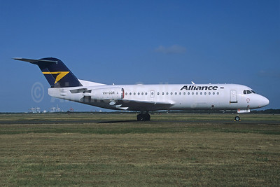 Alliance Airlines (Australia) Fokker F.28 Mk. 0070 (Fokker 70) VH-QQR (msn 11564) (Christian Volpati Collection). Image: 945138.