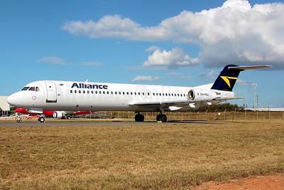 Alliance Airlines (Australia) Fokker F.28 Mk. 0100 (Fokker 100) VH-FKC (msn 11349) BNE (Peter Gates). Image: 906806.