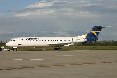 Alliance Airlines (Australia) Fokker F.28 Mk. 0100 (Fokker 100) VH-FWI (msn 11318) BNE (Peter Gates). Image: 906802.