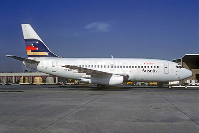 Ansett Airlines Boeing 737-277 VH-CZO (msn 22647) MEL (Christian Volpati Collection). Image: 925582.