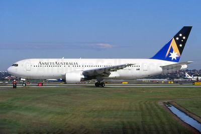 Ansett Australia Boeing 767-277 VH-RME (msn 22693) SYD (John Adlard). Image: 926351.