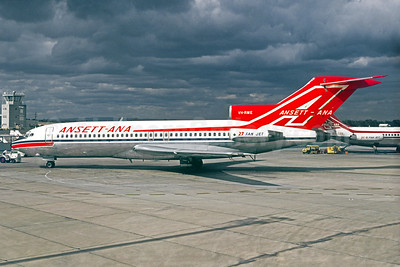 Ansett Airlines-ANA Boeing 727-77 VH-RME (msn 18743) MEL (Jacques Guillem Collection). Image: 933524.