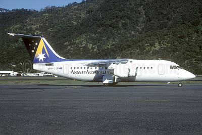 Ansett Australia BAe 146-200 VH-JJP (msn E2037) CNS (Christian Volpati Collection). Image: 940614.