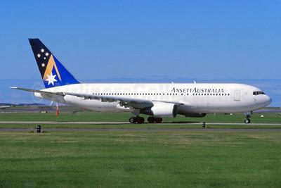 Ansett Australia Boeing 767-277 VH-RMD (msn 22692) SYD (John Adlard). Image: 926349.