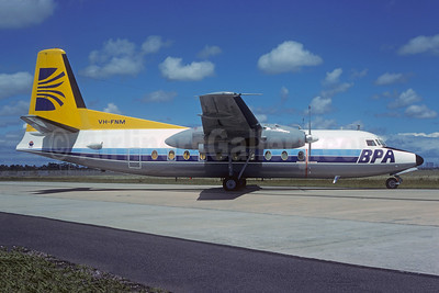 BPA (Bush Pilots Airways) Fokker F.27 Mk. 200 VH-FNM (msn 10292) MEL (Christian Volpati Collection). Image: 950657.