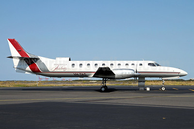 Brindabella Airlines Swearingen (Fairchild) SA227AC Metro III VH-TAG (msn AC-705) BNE (Peter Gates). Image: 921717.