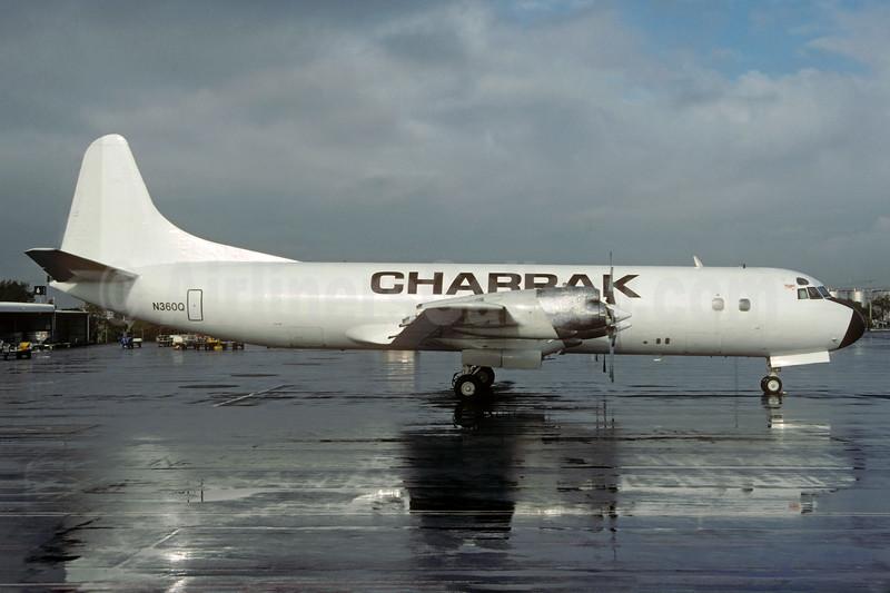 Charrak Air Lockheed 188C (F) Electra N360Q (msn 1112) BNE (Christian Volpati Collection). Image: 936450.