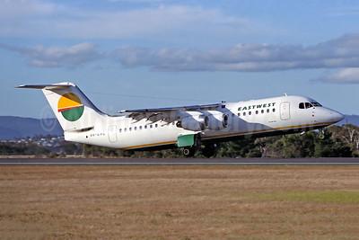East-West Airlines (Australia) Bae 146-300 VH-EWL (msn E3177) HBA (Rob Finlayson). Image: 949490.