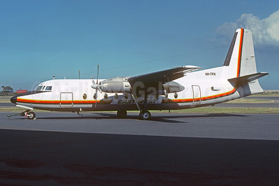 East-West Airlines (Australia) Fokker F.27 Mk. 200 VH-TFK (msn 10138) (Air Niugini colors) (Christian Volpati Collection). Image: 949492.