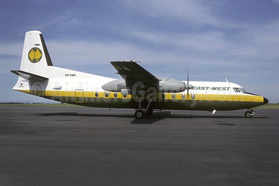 East-West Airlines (Australia) Fokker F.27 Mk. 500RF VH-EWP (msn 10534) MEL (Christian Volpati Collection). Image: 949487.
