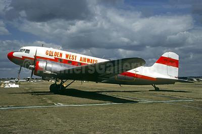 Golden West Airways (Australia) Douglas C-47B-DK (DC-3) VH-AGU (msn 32668) MEL (Christian Volpati Collection). Image: 950674.