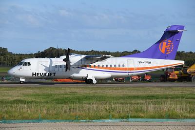 Hevilift ATR 42-320 VH-YWH (msn 194) BNE (Ton Jochems). Image: 944505.