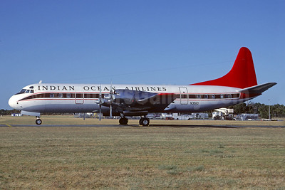 Indian Ocean Airlines Lockheed 188A Electra N351Q (msn 1036) MEL (Christian Volpati Collection). Image: 927399.