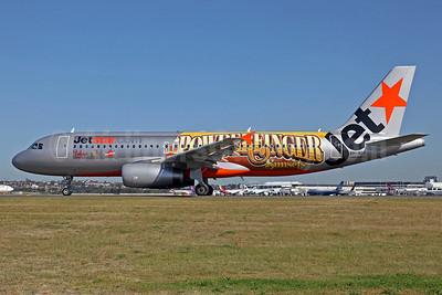 Jetstar Airways (Jetstar.com) (Australia) Airbus A320-232 VH-VGP (msn 4343) (Powderfinger Sunsets) SYD (John Adlard). Image: 905510.