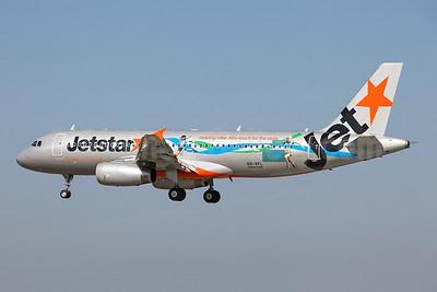 Jetstar's Little Athletics Australia logo jet