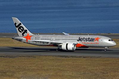 Jetstar Airways' first Boeing 787 Dreamliner