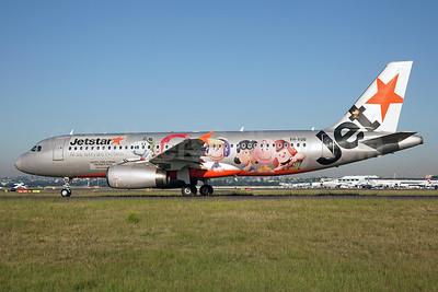 "Jetstar's 2015 ""The Peanuts Movie"" logo jet"