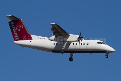 Maroomba Airlines Bombardier DHC-8-102 VH-QQE (msn 173) PER (Micheil Keegan). Image: 907835.