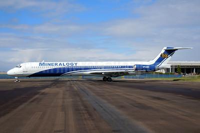 Mineralogy (Palmair) McDonnell Douglas DC-9-82 (MD-82) VP-CBH (msn 53577) BNE (Pepscl). Image: 920568.