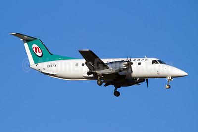 Network Aviation Embraer EMB-120RT Brasilia VH-TFX (msn 120079) PER (Micheil Keegan). Image: 907836.