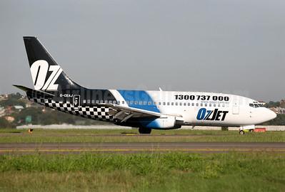 OzJet Airlines Boeing 737-229 G-CEAJ (msn 21177) SYD (John Adlard). Image: 903157.