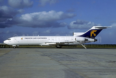 Pacific Air Express (Australia) Boeing 727-281 (F) N214F (H4-PAE) (msn 21455) MEL (Christian Volpati Collection). Image: 936625.