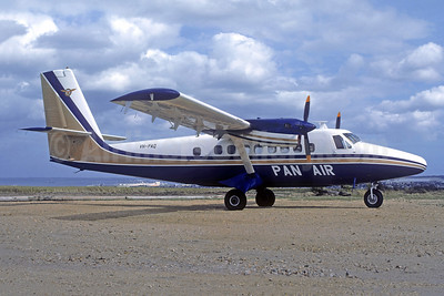 Damaged beyond economic repair while landing at Yarra Creek, King Island on February 13, 1979