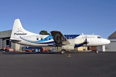 Pionair (Australia) - Tauck World Discovery Convair 580 VH-PDV (msn 507) HBA (Rob Finlayson). Image: 947805.