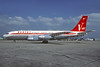 QANTAS Airways (John Travolta) Boeing 707-138B N707JT (VH-EBM) (msn 18740) LBG (Christian Volpati). Image: 932143.