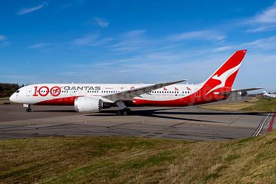 QANTAS Airways Boeing 787-9 Dreamliner VH-ZNJ (msn 66074) (100 Centenary) PAE (QANTAS Airways). Image: 948264.