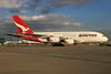 QANTAS Airways Airbus A380-842 VH-OQB (msn 015) LHR. Image: 930002.